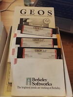 GEOS v2.0 COMPLETE + Q-Link DISK - BOXED Commodore 64 128 SX 64 DISK Version.