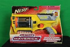Nerf N-Strike Maverick  Micro Darts  New In Box Yellow  Hasbro