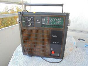 """DDR Transistor-Radio RFT """"Steratrans R 2300"""" Made in GDR DDR"""