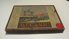 Metallbaukasten MECANIC 1a im original Karton, 50er Jahre,