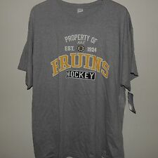 NHL Property of Bruins Hockey Shirt New Size Mens MEDIUM