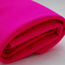 100% Wool Felt Fabric - 1mm Thick - Made in Europe - Hot Pink - 1/2m x 1.6m