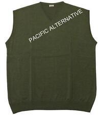 Gilet sans manches LC vert Homme 6XL grande taille 72 big size green vest NEUF