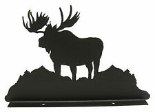 Moose Mailbox Topper Decor