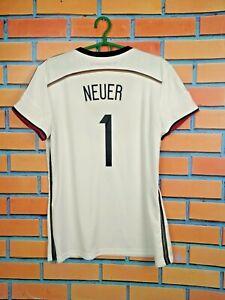 Neuer Germany Jersey Women 2014 2015 Home Size XL Shirt Trikot Adidas G76478
