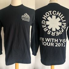 """RED HOT CHILI PEPPERS (2012) """"I'm With You"""" RARE!!! Security Crew T-Shirt Medium"""