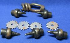 Civil War Army Bullet Extractor, Musket Wiper Worm Tools & Spurs Lot Of 10