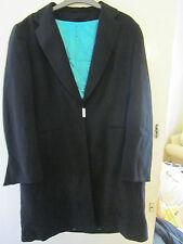 Black Dorothy Perkins Coat in Size 18 - Knee Length
