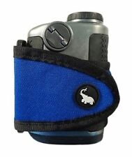 Monument Golf Stick It Magnetic Range Finder Strap/ Holder Classic Series Blue