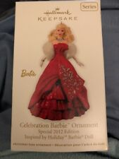 HALLMARK 2012 Celebration BARBIE SERIES Special Inspired by Holiday Doll