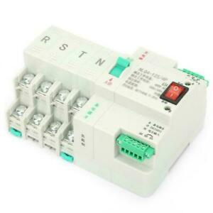 Umschalter Transferschalter Dual Netzteil Automatisch Transfer Switch AC400V 4P