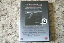 The Art Of Piano Dvd Rare Oop Great Pianists of the 20th Century Sealed New!