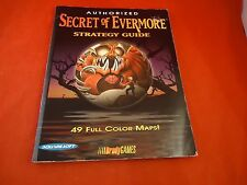 Secret of Evermore Super Nintendo SNES Strategy Guide Player's Hint Book