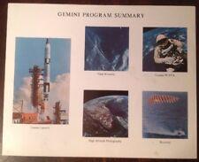 "NASA GEMINI LOT Launch Atlas Facts FDC 1967 PICTORIAL Vol IV No 1  21"" X 48""..."