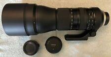 Tamron SP 150-600mm f/5-6.3 Di VC USD G2 Nikon F AFA022N-700 W/ teleconverter