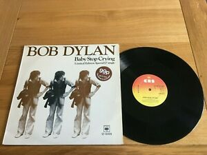 Bob Dylan-Baby stop crying.12""