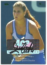 2012 ACE SORANA CIRSTEA AUTO #88 GRAND SLAM III AUTOGRAPH GREEN PARALLEL /20