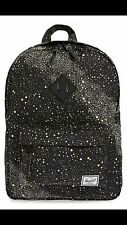 NWT Herschel Supply Co. Settlement Kids Backpack Galaxy Moon Black Yellow White