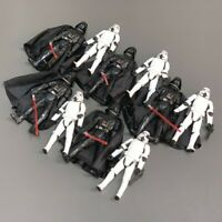 10 Star Wars the clone wars Darth Vader Stormtroopers OTC Trilogy Figure Toys