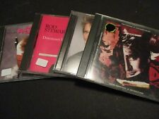 Lot of 4 ROD STEWART Vagabond Heart / Downtown Train / Out Of Order CD 400ML-2