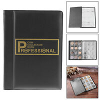 120 Coin Collection Book Collecting Storage Holder Mini Money Penny Pocket Album