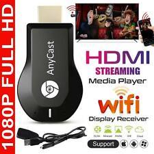 1080P Smart Media Player TV Stick Google Dongle Mira Cast Mac USB Anycast