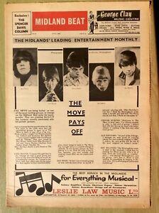 1966 MIDLAND BEAT No. 31 ~ The Move, Giorgio & Marco's Men, The Con-Chords, etc