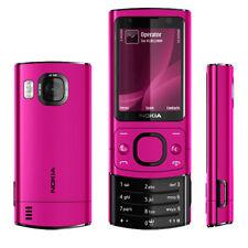 "Nokia 6700S Slide Phone Standby 2.2 ""3G sbloccato Bluetooth originale Rosa Rossa"