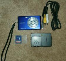Sony Cyber-shot DSC-W330 14.1MP Digital Camera - Blue