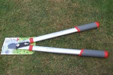 Good light & strong gear loppers teflon coated blade new unused.
