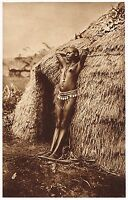 1920s Vintage Black African Kenyan Female Nude Model Photo Gravure Print