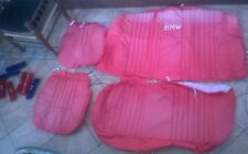 BMW RED CAR SEAT COVERS, MADE FOR CABROILET  MODEL- PROFF  STICHED FROM ABROAD.