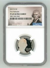 2019 S JEFFERSON NICKEL 5C NGC PF 69 ULTRA CAMEO FIRST RELEASES 5821342-042
