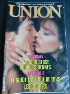Magazine adulte UNION n ° 173 novembre 1986 VOIR SOMMAIRE