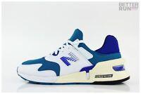 New Balance Sneaker - MS997 JHB - White Tourquois Blue