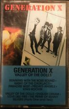 Generation X valley of the dolls Chrysalis records 1979 cassette
