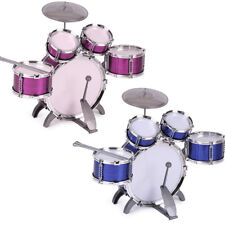 Childrens 27Pc Rock Drum Kit Junior Set Toy Musical Rock Band Play Toy Gift