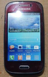 SAMSUNG S6310N GALAXY Y ANDROID 3G MOBILE PHONE-UNLOCKED,NEVV CHARGAR & WARRANTY