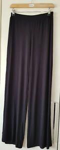 Nasty Gal Trousers Black Size 8 Leisurewear Active Soft Viscose Casual Women's