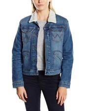Abrigos y chaquetas de mujer azules Wrangler de vaquero