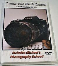 Canon EOS 40D Crash Course DVD Training Guide 3 Hrs of Info, New, Free Shipping!