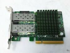 Supermicro AOC-STGN-i2S Rev2.1 Intel 82599 2-Port SFP 10Gbe Controller Low Brckt
