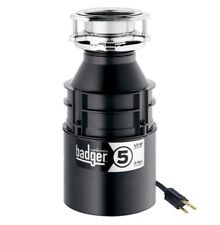 InSinkErator Badger 5, 1/2 HP Food Waste Disposer WITH POWER CORD (NEW)