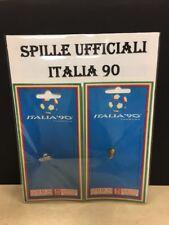 ITALIA 90 SPILLE UFFICIALI LA COPPIA