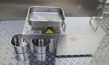Ölpresse Ölmühle Pflanzenöl Presse VOLLEDELSTAHL mit Heizung ETOIP-300