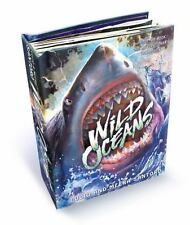 Wild Oceans: A Pop-up Book with Revolutionary Technology-ExLibrary