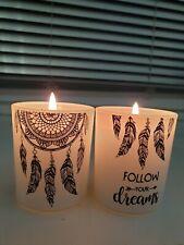 6 er Set  Teelichter - Traumfänger-  Deko USA Geschenk Dreams Träume Indianer
