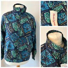 NWT Vintage Silk Bomber Jacket Small Shell Fresh Prince 80s 90s Festival Retro