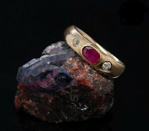Natural Ruby Gemstone Ring In 925 Sterling Silver Ring for Men's & Women Ring