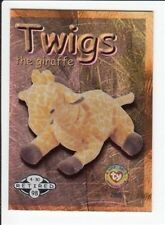 1999 Ty Beanie Babies Series 2 Retired Card Twigs Silver #288